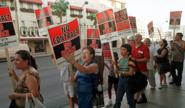50,000 Vegas casino workers to vote on strike over contract