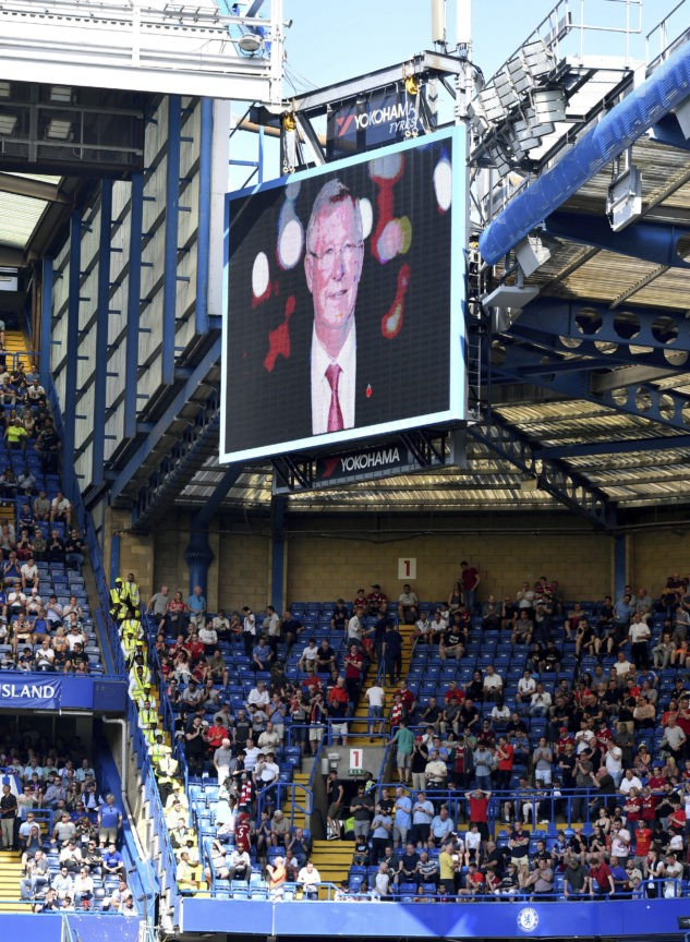 Man United says Ferguson out of intensive care after surgery