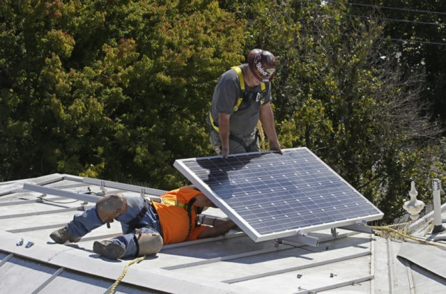 California moves to require solar panels on all new homes