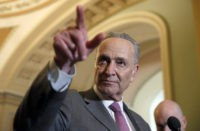 Chuck Schumer Blames Trump Administration for Overcrowding at Border