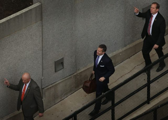 The Latest: Greitens' staff carries on as he goes to court