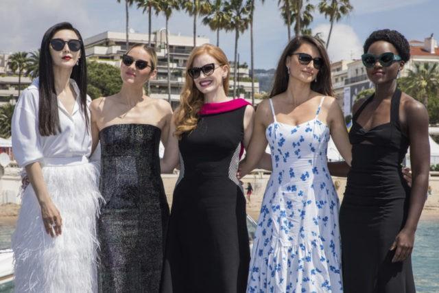 Fan Bingbing, Marion Cotillard, Jessica Chastain, Penelope Cruz, Lupita Nyong'o