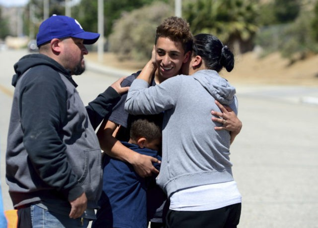 Chaos after multiple shooting reports; 1 student wounded
