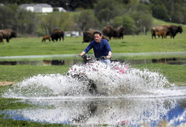Man rescued from Montana floodwaters as waters keep rising