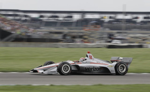 The Latest: Power pulls away to give Penske 200th series win