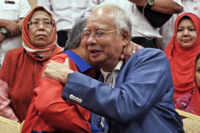 Najib Razak, Ahmad Zahid Hamidi