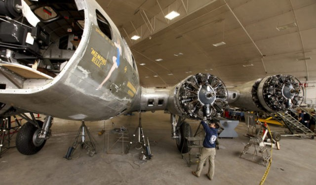Memphis Belle's rebirth: Rehabbed WWII bomber rolling out