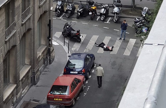 The Latest: Paris knife attacker was flagged for radicalism