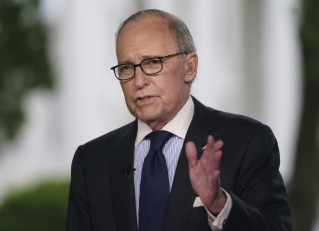 President Trump tweets economic adviser Larry Kudlow hospitalized after heart attack