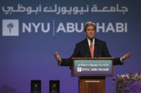 Kerry says civil discourse is under threat around the world