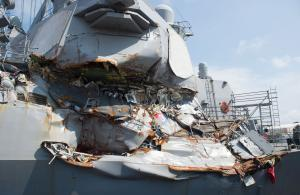 USS Fitzgerald officer pleads guilty to role in fatal collision