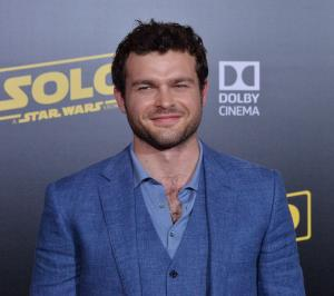 Harrison Ford interrupts Alden Ehrenreich's TV interview