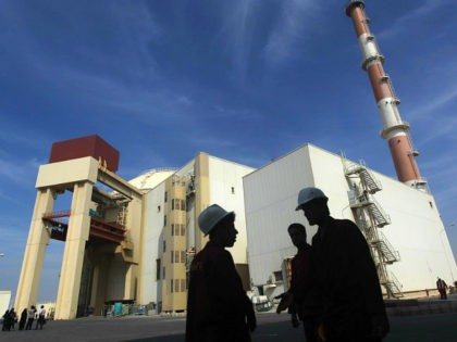 The reactor building at the Russian-built Bushehr nuclear power plant in southern Iran, 1200 Kms south of Tehran, where Iran has began unloading fuel into the reactor core for the nuclear power plant on October 26, 2010, a move which brings the facility closer to generating electricity after decades of …