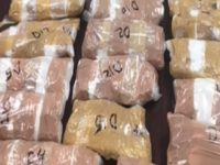 More than $1.4 million worth of methamphetamine seized by Laredo Sector Border Patrol agents. (Photo: U.S. Border Patrol/Laredo Sector)
