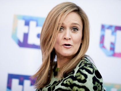 "Samantha Bee attends ""A Night Out With"" FYC Event held at The Theatre at Ace Hotel on Tuesday, May 24, 2016, in Los Angeles. (Photo by Richard Shotwell/Invision/AP)"