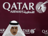 Qatar Airways Chief Executive Officer Akbar al-Baker talks during a press conference in Dubai on May 5, 2014 in which he announced Qatar Airways has become 100-percent state-owned after the government bought out private investors. AFP PHOTO /KARIM SAHIB (Photo credit should read KARIM SAHIB/AFP/Getty Images)