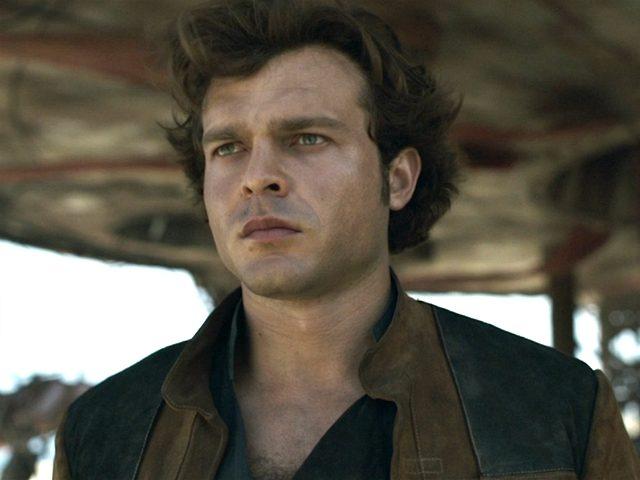 Alden Ehrenreich plays Han Solo in Disney's Solo: A Star Wars Story.