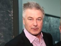Alec Baldwin poses for a photo backstage at Carmen Marc Valvo during New York Fashion Week on February 14, 2017 in New York City. (Photo by Robin Marchant/Getty Images