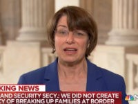 Dem Senator Klobuchar: Trump Is 'Holding Children Hostage'
