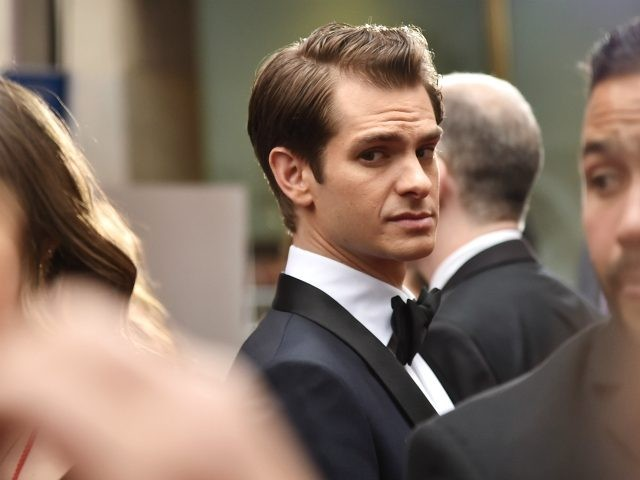 Andrew Garfield attends the 72nd Annual Tony Awards at Radio City Music Hall
