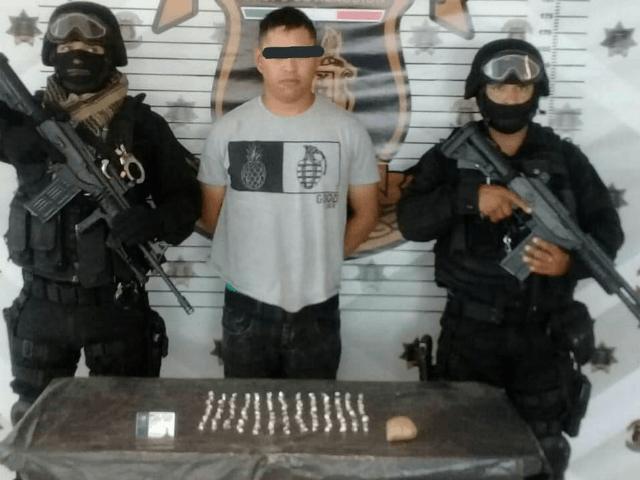 Arrested Nuevo Leon Cop
