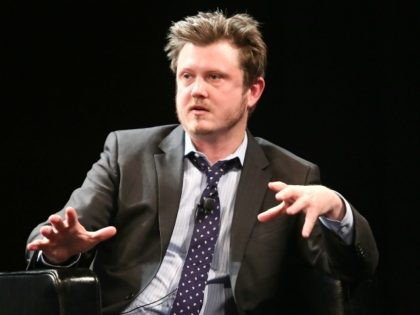 Beau Willimon, creator of Netflix series 'House of Cards,' attends Future Of Film Panel: Stories By Numbers - 2014 Tribeca Film Festival at SVA Theater on April 24, 2014 in New York City. (Photo by Astrid Stawiarz/Getty Images for the 2014 Tribeca Film Festival)