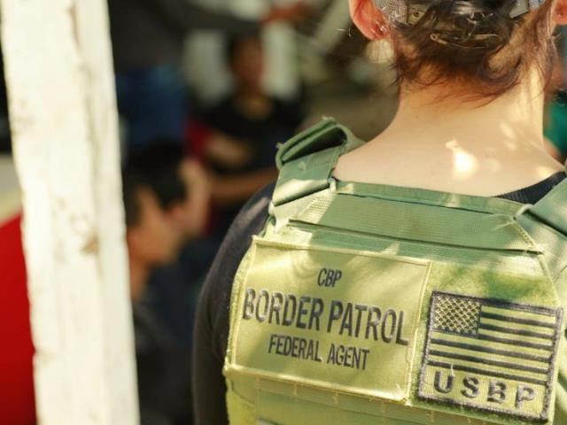 Border Patrol agent in stash house