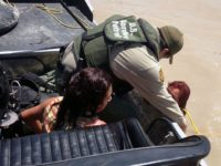 Border Patrol agents rescue woman from Rio Grande River. (File Photo: U.S. Border Patrol/ Agent Carl Nagy)