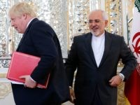 Boris Johnson and Iran (Atta Kenare / AFP / Getty)