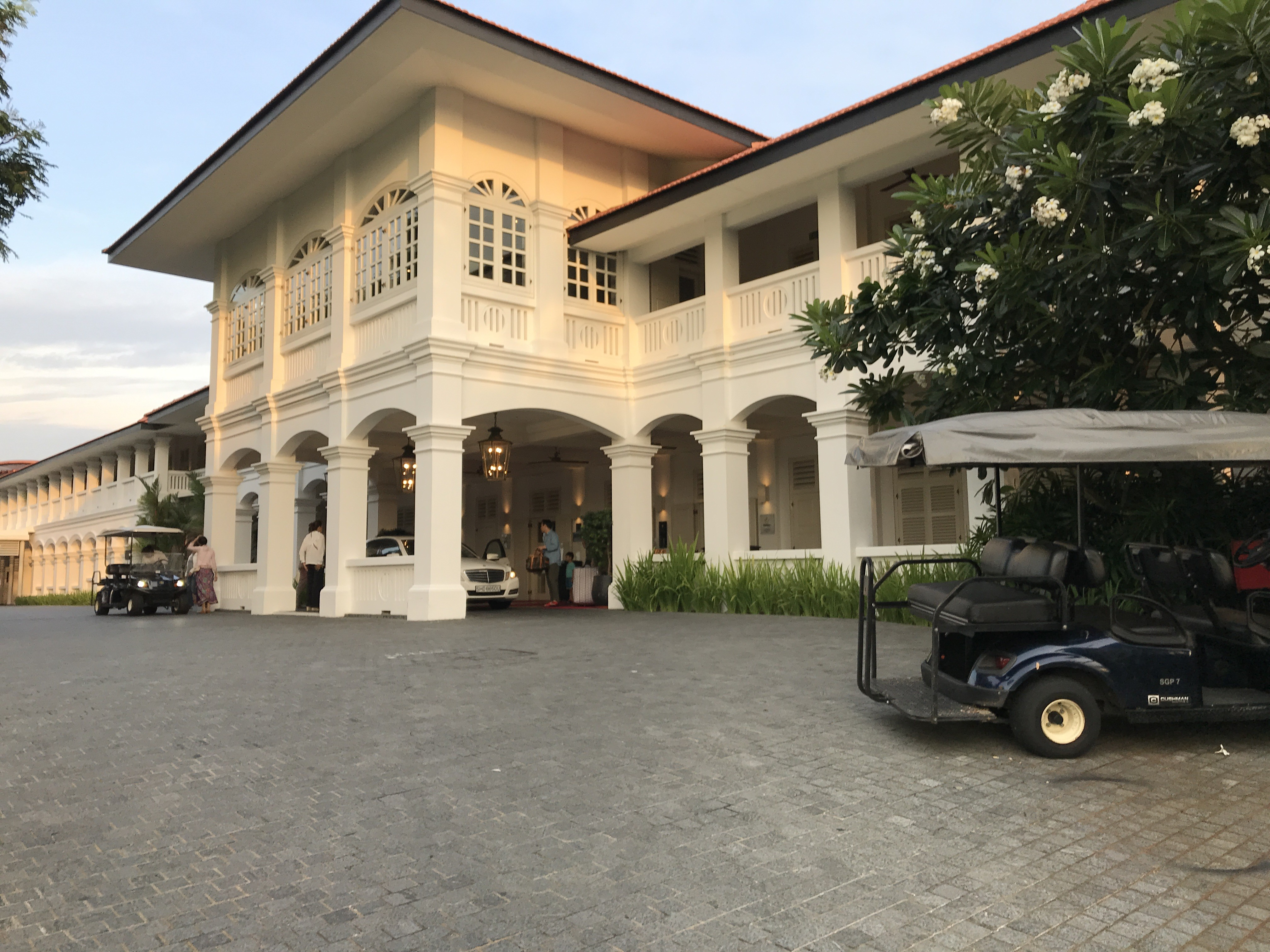 The Trump-Kim summit is rumored to be taking place at the Capella Singapore. (Kristina Wong/Breitbart News)