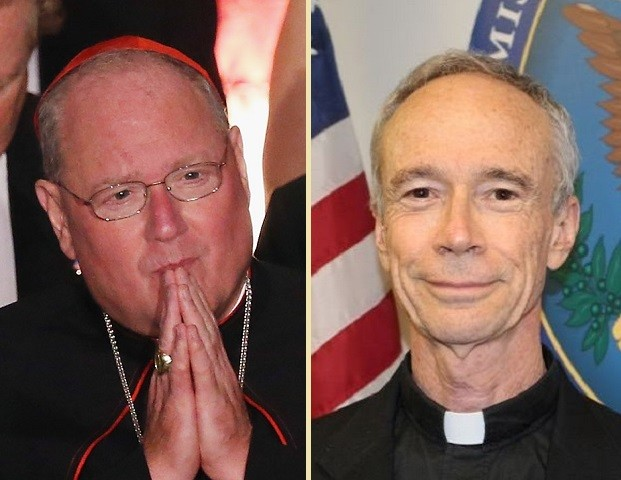 Cardinal Dolan and Thomas Reese SJ