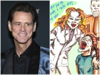 Jim Carrey Draws Melania Trump with 'Federally Abducted Refugee Child'