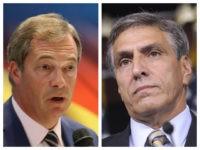 Collage of Nigel Farage and Lou Barletta