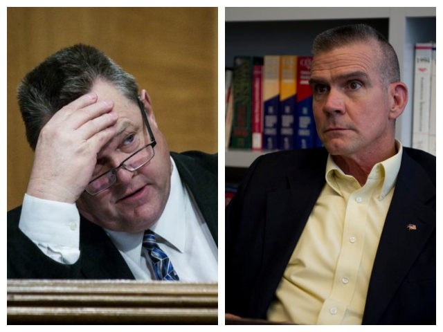 Collage of Jon Tester and Matt Rosendale