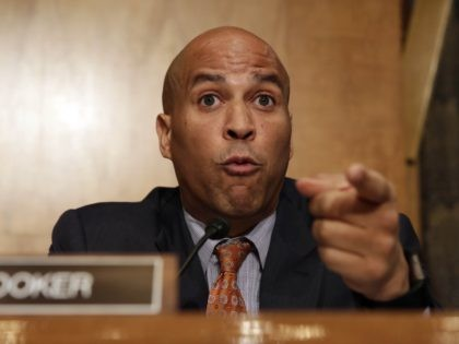 Cory Booker (Yura Gripas / AFP / Getty)