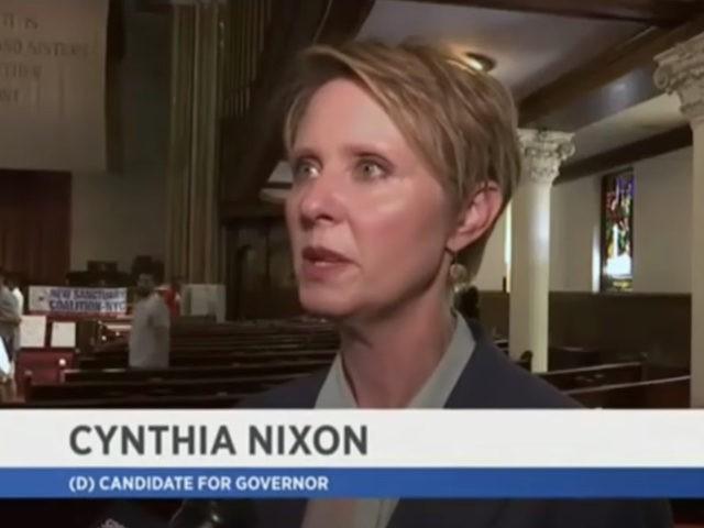 Dem NY Gov Candidate Cynthia Nixon Calls ICE a 'Terrorist Organization'