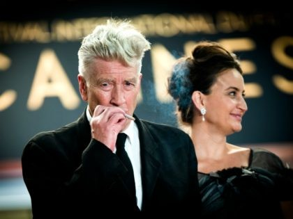 Director David Lynch smokes as he departs the 'Twin Peaks' screening during the 70th annual Cannes Film Festival at Palais des Festivals on May 25, 2017 in Cannes, France. (Photo by Matthias Nareyek/Getty Images)