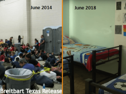 Dention of immigrant children - 2014 and 2018