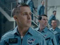 Patrick Fugit and Ryan Gosling in First Man (Universal Pictures, 2018)