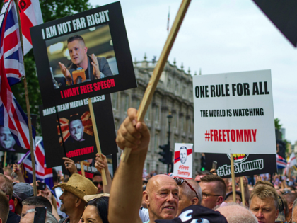 Muslim Activist Who Beat Policeman at Tommy Robinson Rally Spared Prison (Robinson Still Locked Up)