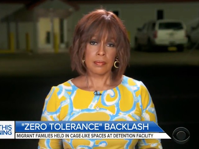 CBS's Gayle King at Texas Border Facility: The Statue of Liberty Is 'Weeping Right Now'