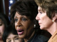 Waters: 'Republicans Are Very Scared' There Is Going to Be a Blue Wave