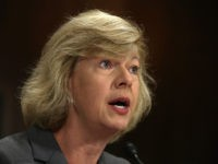 "WASHINGTON, DC - JULY 15: U.S. Sen. Tammy Baldwin (D-WI) testifies during a hearing before the Senate Judiciary Committee July 15, 2014 on Capitol Hill in Washington, DC. The hearing was to examine ""S.1696, The Women's Health Protection Act: Removing Barriers to Constitutionally Protected Reproductive Rights."" (Photo by Alex Wong/Getty …"
