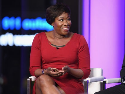 MARCH 08: Joy Reid and Vincent Warren speak onstage during TIME AND PUNISHMENT: A Town Hall Discussion with JAY Z and Harvey Weinstein on Spike TV at MTV Studios on March 8, 2017 in New York City. (Photo by Dave Kotinsky/Getty Images for Spike)
