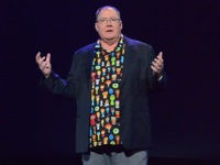 ANAHEIM, CA - JULY 14: Chief Creative Officer of Pixar and Walt Disney Animation Studios John Lasseter took part today in the Walt Disney Studios animation presentation at Disney's D23 EXPO 2017 in Anaheim, Calif. (Photo by Jesse Grant/Getty Images for Disney)