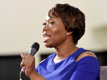 PASADENA, CA - JULY 30: Joy-Ann Reid at the 'MSNBC: Facts Still Matter' panel at Politicon at Pasadena Convention Center on July 30, 2017 in Pasadena, California. (Photo by Joshua Blanchard/Getty Images for Politicon)