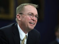 WASHINGTON, DC - APRIL 18: Office of Management and Budget Director Mick Mulvaney testifies during a House Appropriations Committee hearing on Capitol Hill, April 18, 2018 in Washington, DC. The committee is hearing testimony on President Donald Trump's FY2019 budget request for the Office of Management and Budget. (Photo by …