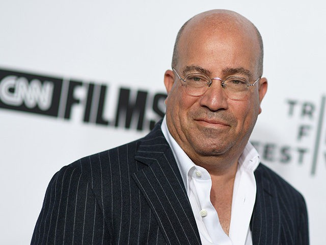 Jeff Zucker attends the 2018 Tribeca Film Festival opening night premiere of 'Love, Gilda' at Beacon Theatre on April 18, 2018 in New York City. / AFP PHOTO / ANGELA WEISS (Photo credit should read ANGELA WEISS/AFP/Getty Images)