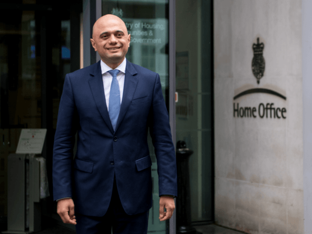 Sajid Javid Home Office