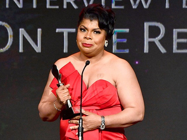 BEVERLY HILLS, CA - MAY 22: Honoree April Ryan speaks onstage at the 43rd Annual Gracie Awards at the Beverly Wilshire Four Seasons Hotel on May 22, 2018 in Beverly Hills, California. (Photo by Frazer Harrison/Getty Images)